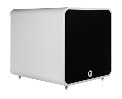 Q Acoustics Q B12 hoogglans wit
