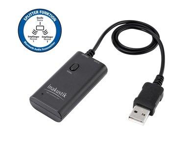 Inakustik Premium Bluetooth Audio Transmitter (Zender)