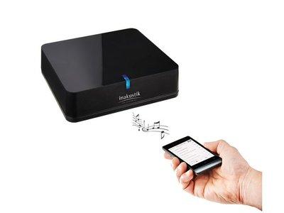 Inakustik Premium BlueTooth ontvanger 3,5mm/optisch uit