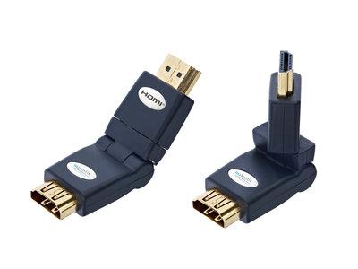 Inakustik Premium HDMI roterend opzetstuk male - female