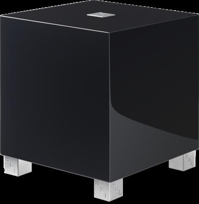 Rel Acoustics T5i handgepolijste zwart