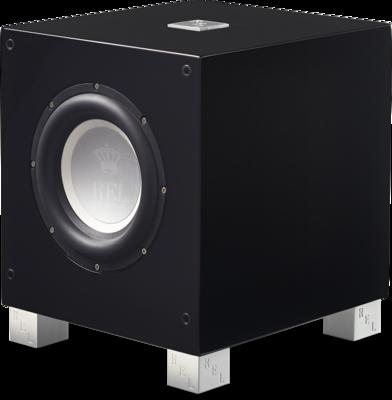 Rel Acoustics T7i handgepolijste zwart