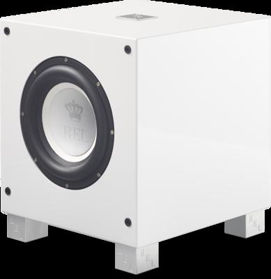 Rel Acoustics T7i witte hoogglans