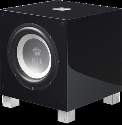 Rel Acoustics T9i handgepolijste zwart