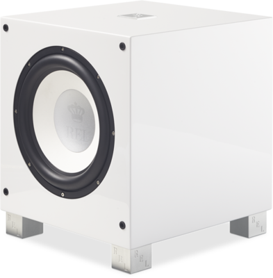 Rel Acoustics T9i witte hoogglans