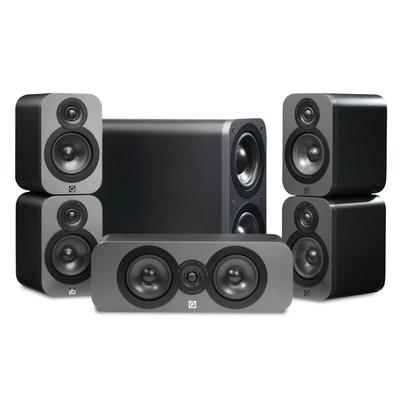 Q acoustics 3000 5.1 set graphite