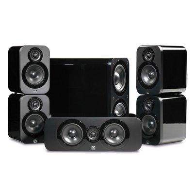 Q acoustics 3000 5.1 set black
