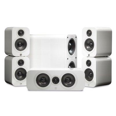Q acoustics 3000 5.1 set white