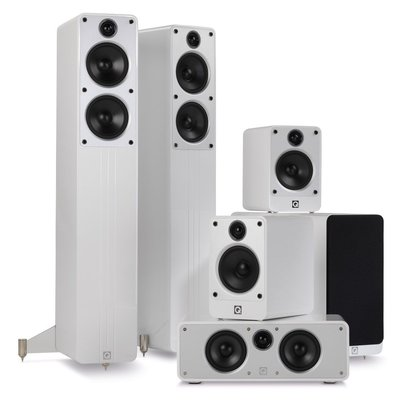 Q Acoustics  concept 5.1 set white
