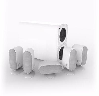 Q Acoustics  7000i plus 5.1 set white