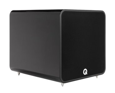 Q Acoustics Q B12 hoogglans zwart