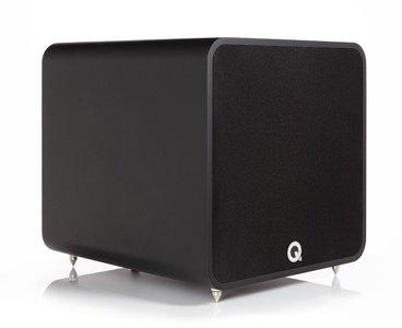 Q Acoustics Q B12 mat zwart