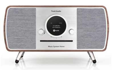 Tivoli Audio Music System Home walnut grey