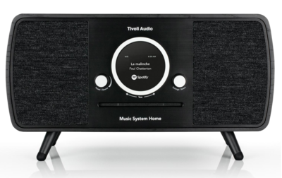 Tivoli Audio Music System Home walnut black