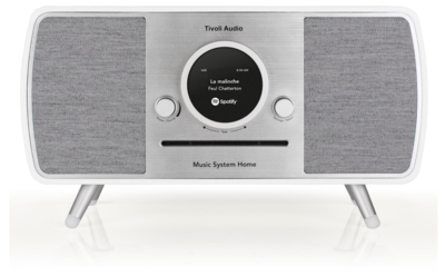Tivoli Audio Music System Home white-grey